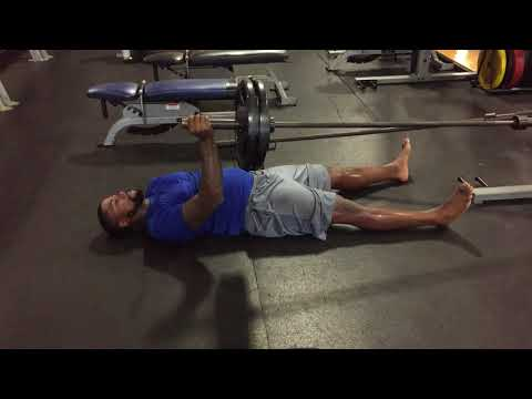 Landmine Single Arm Floor Press