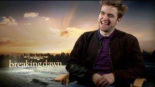BREAKING DAWN (Part 2) Interviews: Robert Pattinson, Kristen Stewart and Taylor Lautner