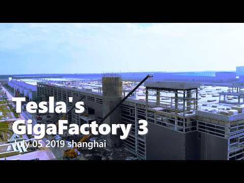 Tesla Gigafactory 3 assembly lines are taking form ahead of initial Model 3 production