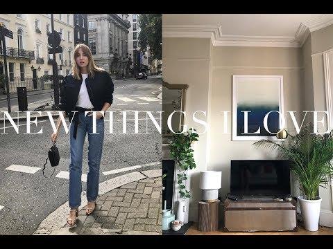 Some New Things I Love | Fashion & Homeware