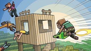 Minecraft Fortnite - SURPRISE ROCKET LAUNCHER WIN! (Fortnite Battle Royale)