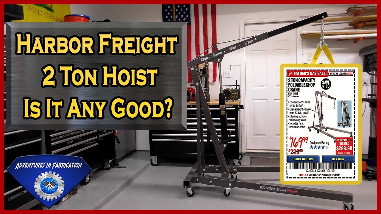 Harbor Freight Electric Hoist Quotes on