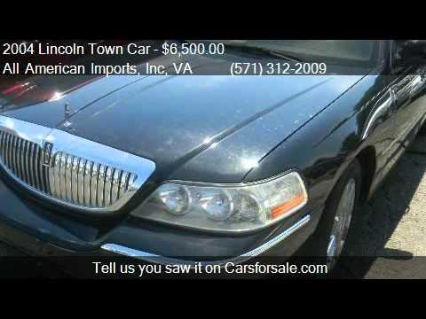 2004 Lincoln Town Car Ultimate L For Sale In Arlington Va Youtube