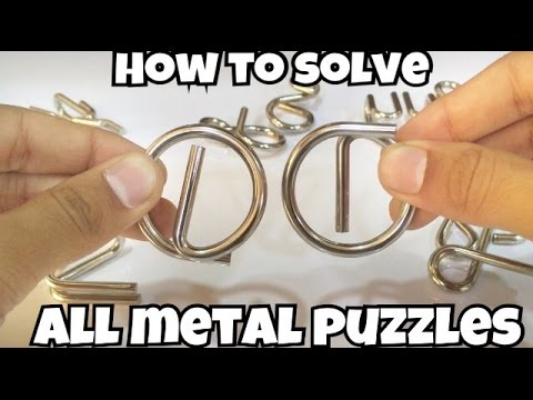 How to solve All Metal Puzzles