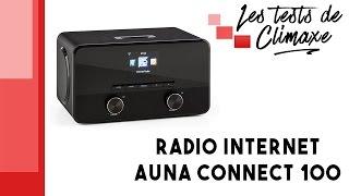Test de la radio Internet Auna Connect 100 (poste radio connecté en Wifi)