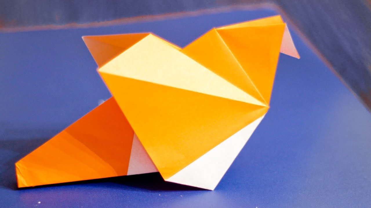 Origami Dove Easy Instructions