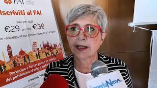 Carmen Lanteri - Marzia Cicala giornata FAI d'autunno 2018 a Mendatica