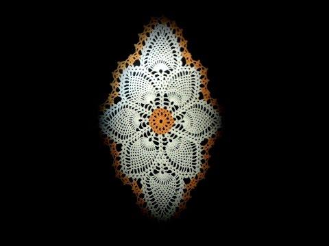 Салфетка Невеста. УРОК 1. Вязание крючком.