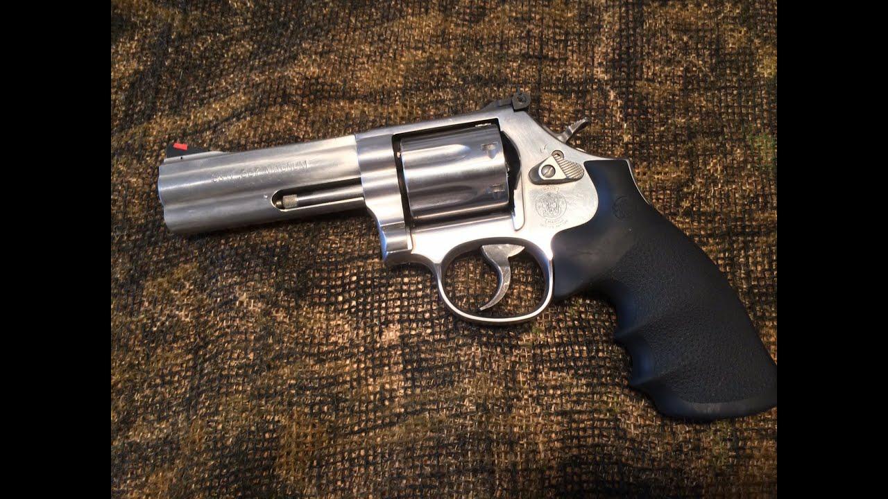 Gun Review: S&W .357 Revolver ...