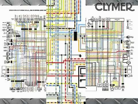 Sv650 Wiring Diagram Three Phase Rotary Converter Clymer Manuals Honda St1100 Manual St1100a Pan European Shop Service Maintenance Tech