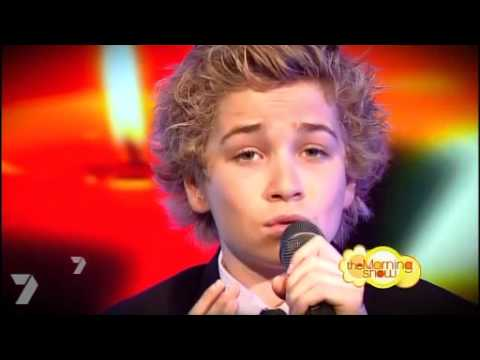 Thumbnail: 12 yr old sings Hallelujah LIVE on National television