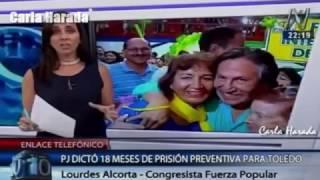 2017-02-10 - Captura y prisión preventiva para Alejandro Toledo