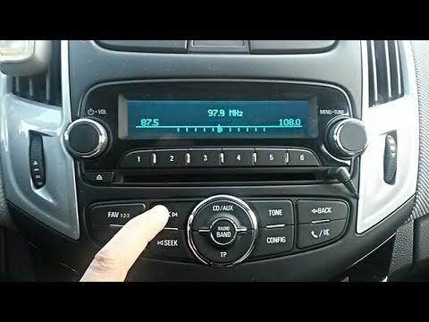 Что не так с радио Шевроле Круз