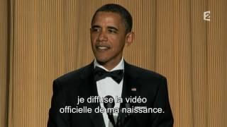 Barack Obama se moque de D Trump  mkv