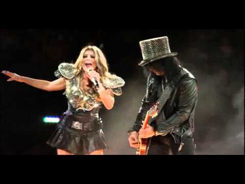 Slash Feat. Fergie – Sweet Child of Mine [Super Bowl XLV]