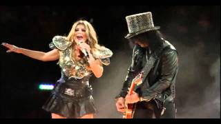 Slash Feat. Fergie - Sweet Child of Mine [Super Bowl XLV]