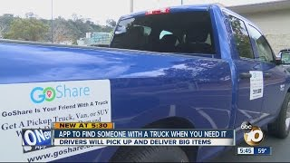 GoShare App Helps You Find A Truck