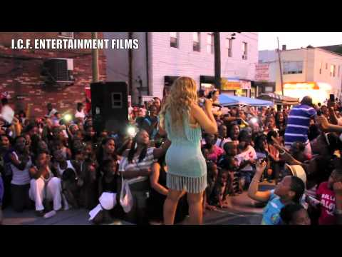 "TRINA-""LIVE AT THE 2011 UNITY IN THE COMMUNITY BLOCK PARTY IN PHILLY"""