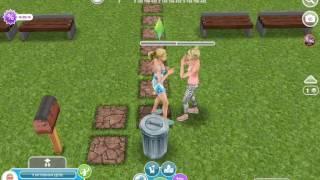 Сериал в игре  Sims FreePlay 1 сезон 2 серия девчячая школа