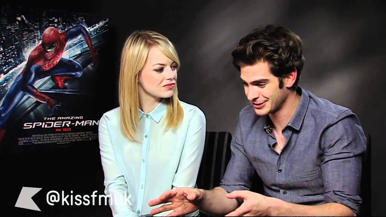 Emma Stone And Andrew Garfield The Amazing Spider Man Youtube
