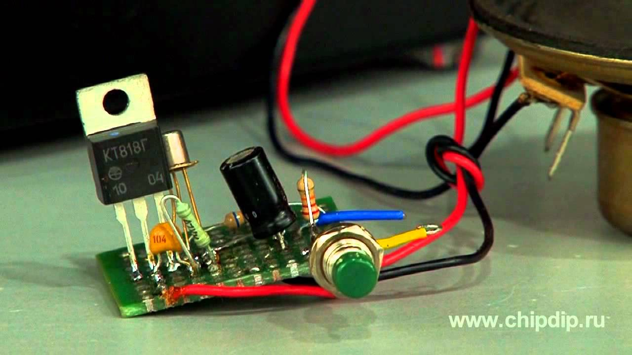 Simple But Powerful Sound Unit Emergency Youtube Ne555 Siren Alarm Indicator Tone Generator Circuit Diagram
