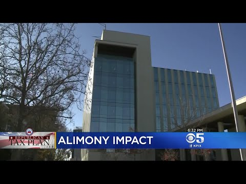 New Tax Law To Impact Alimony Deductions