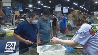 Коронавирус вновь нашли на упаковке морепродуктов в Китае