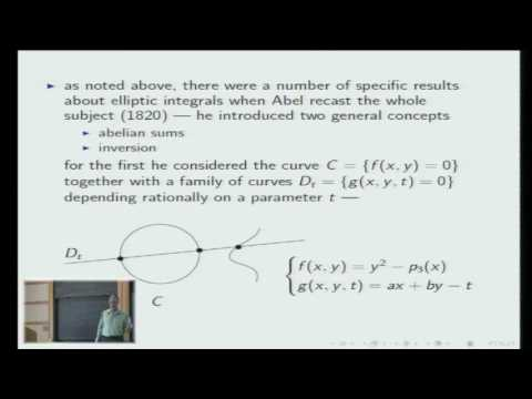 Hodge Theory -- From Abel to Deligne - Phillip Griffiths