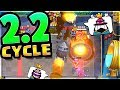 2.2 Rocket Cycle WINS a Ladder Match!? Clash Royale Cycle Deck