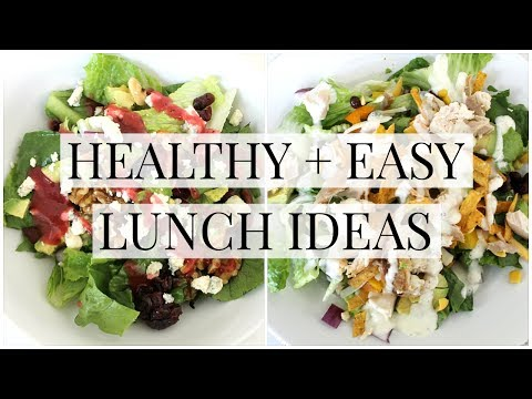 Healthy + Easy Lunch Ideas | Kendra Atkins