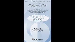Galway Girl (SATB) - Arranged by Philip Lawson