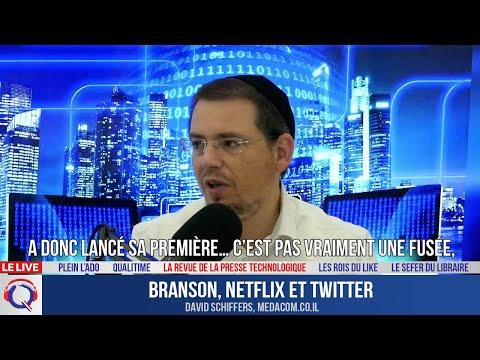 Branson, Netflix et Twitter - La Revue De La Presse Technologique#12