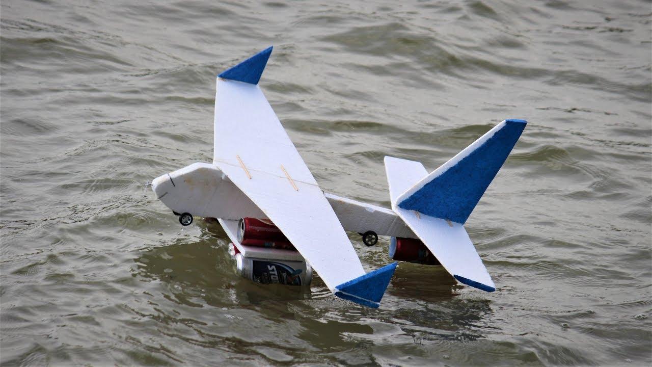 How To Make a airplane - Boat aeroplane