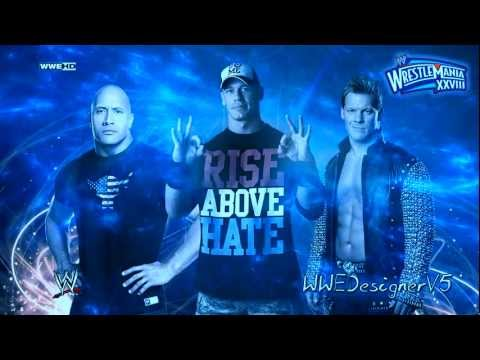 wwe wrestlemania 2012 theme song