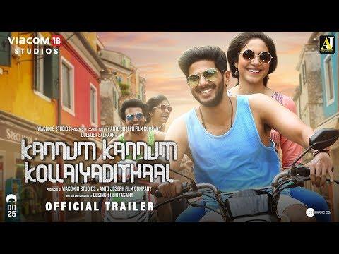 Kannum Kannum Kollaiyadithaal trailers