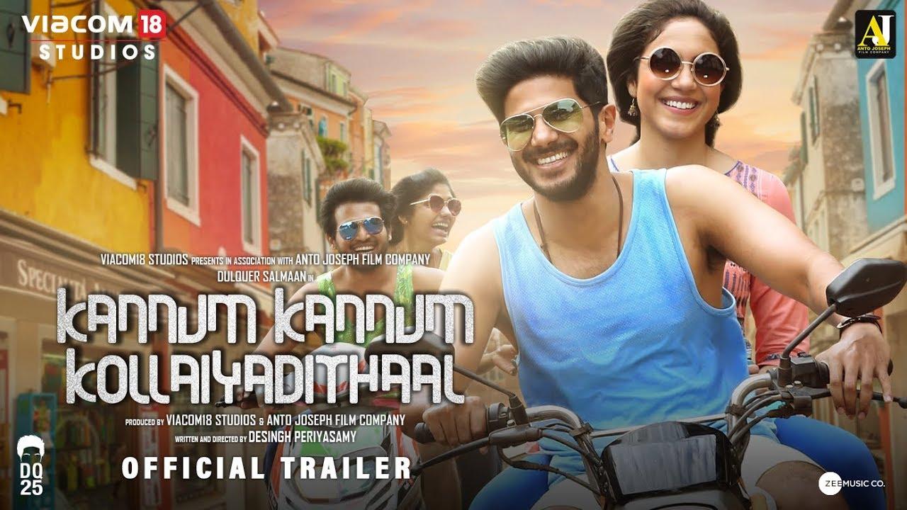 Kannum Kannum Kollaiyadithaal l Official Trailer l Dulquer Salmaan l Ritu Varma l Coming Soon