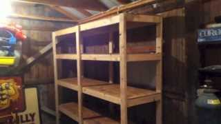Update On My How To Build Cheap Shelves Garage Storage