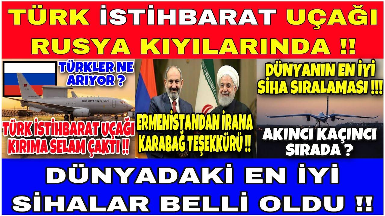 RUS HAVA SAVUNMASI TÜRK ELEKTRONİK HARP UÇAĞINI ARADI !! [ İRAN ANİMASYON UZMANI OLDU !! ]