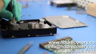 Recovering lost data on failed Seagate hard drive - Ottawa, ON