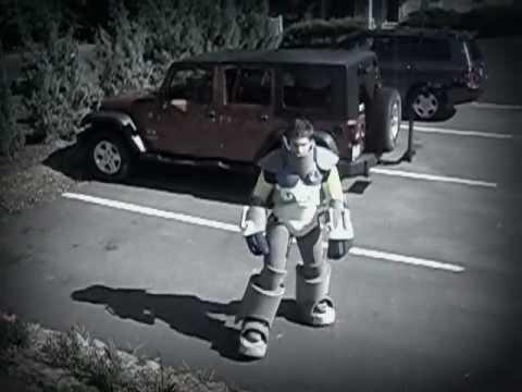Steampunk Construct Costume: Walking Test