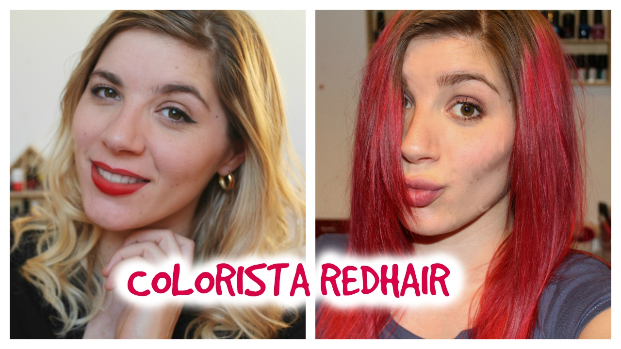 CRASH TEST COLORISTA RED HAIR YouTube