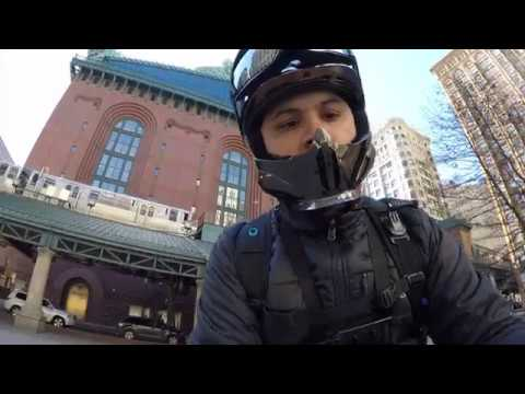 Uber Eats On A Bike - Chicago