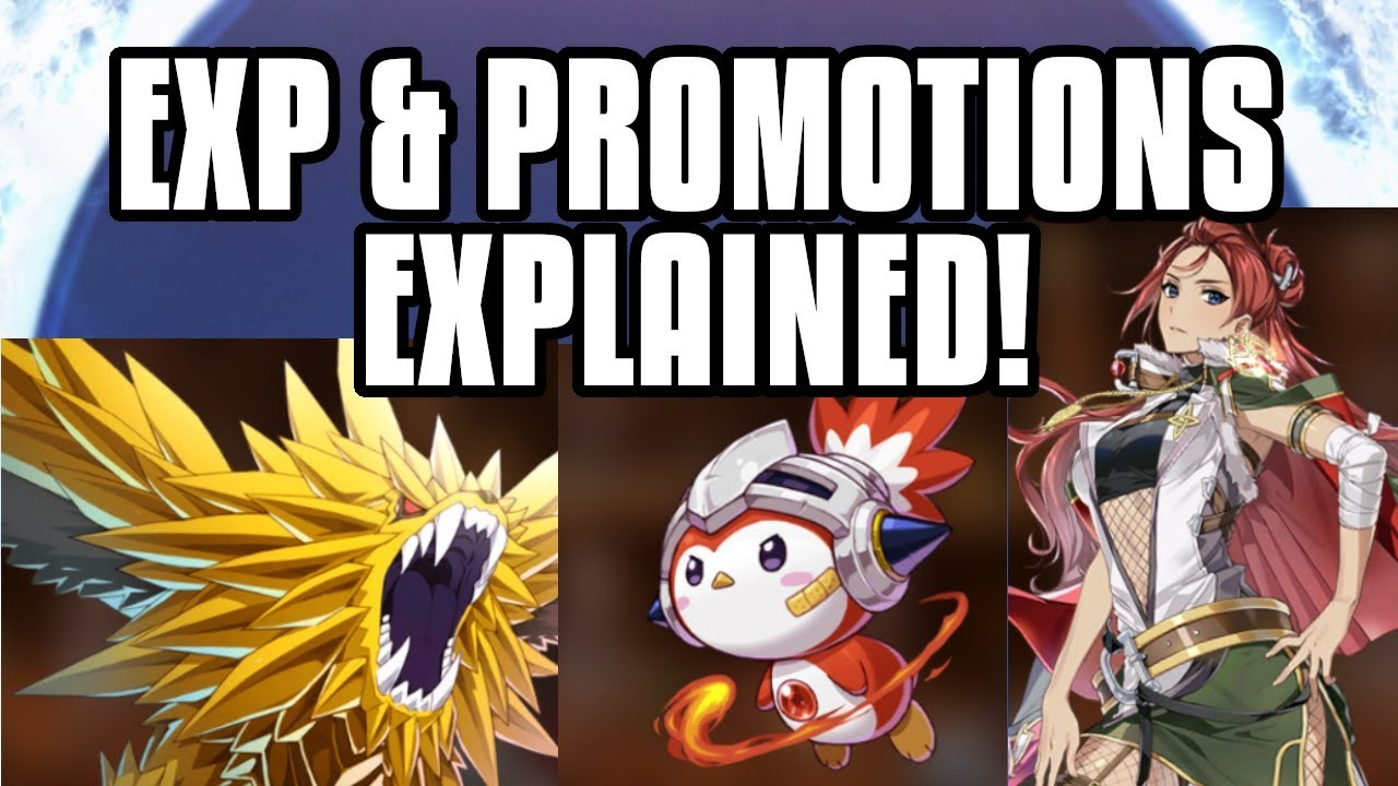 Epic Seven] How To Level Up Fast And Promote Units! - Gamer Dan