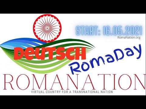 Deu: RomaDay Statement & RomaNation.org 60 Sprachen als Untertitel