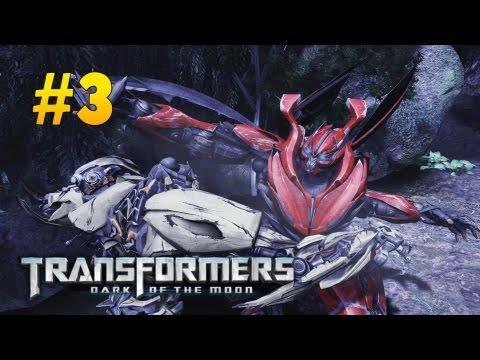 Transformers Dark of the Moon Walkthrough #3 - Dino, err..Mirage
