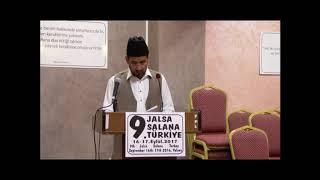 Müslüman Ahmediye Cemaati-2017 Calsası-Huzur'un Mesajı -Arapça