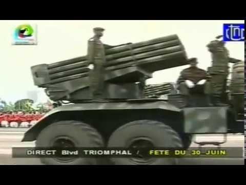30 Juin 14 : Démonstration de forces Armées de la République Démocratique du Congo