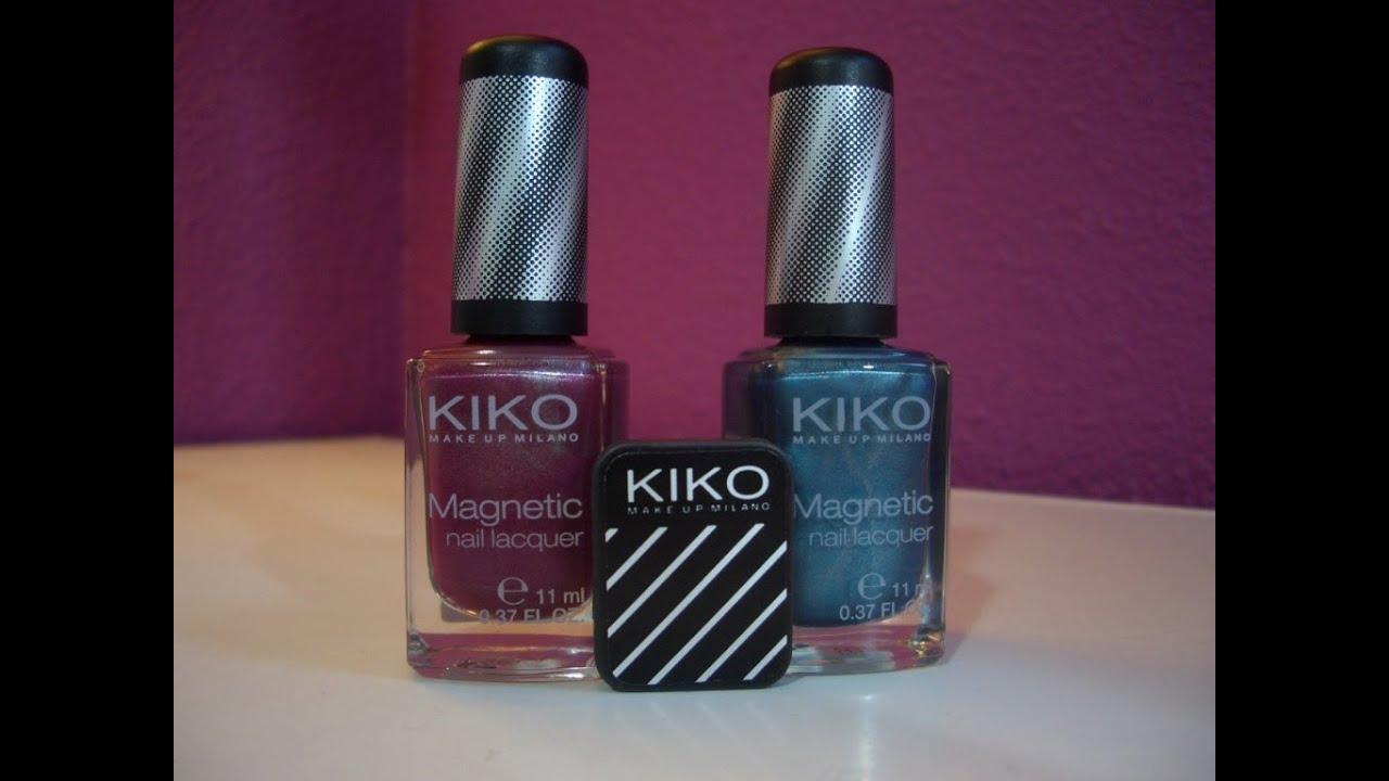 Kiko Magnetic Nail Lacquer - YouTube