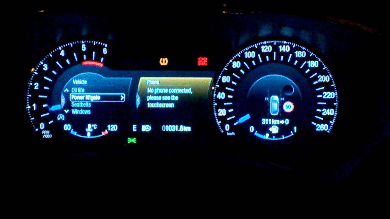 Ford Mondeo 2015 Board Display Youtube