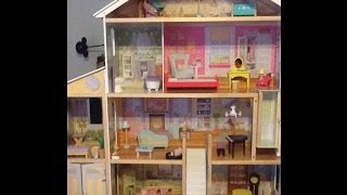 Tour & Review Of Mansion Barbie Size Dollhouse!